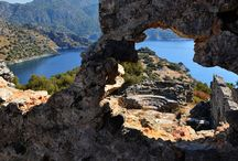 Islands near Fethiye Turkey