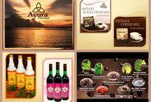 Ayura Termékek / Thaiföldi Egészséget szolgáló minőségi gyógynövényes termékek