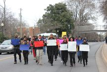 Black Lives Matter #BHMJCSU / JCSU campus activities in support of the Black Lives Matter movement.  / by Johnson C. Smith University