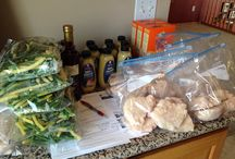 Freezer Meal Party / How to organize making a lot of freezer meals