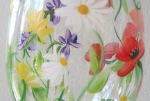 malování sklo-glass