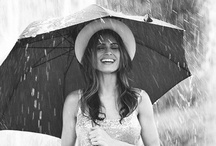 Portrait im Regen