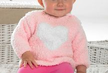 Cuddles / Super soft fluffy textured yarn perfect for baby wear and cuddly toys, available in a range of multi pastel shades.