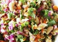 COOKING: Salad Recipes and Ideas / Recipes for easy crowd pleasing salads and cold dishes.