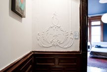 plaster friezes or similar