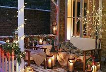 Wesołych Świąt! Aranżacja tarasu na Święta.