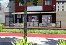 """Nardis - Guadadssuar / Horno- pastelería- cafetería """"Nardis"""". Situado en Guadassuar  """"Valencia"""". Diseñado y construido por MSE Project."""