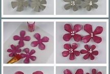 Artifical flower making