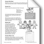 Summer School Worksheets & Activities PreSchool-Kindergarten / Fun summer worksheets and activities for Pre-school & Kindergarten