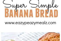 RECIPES Quick Breads / Sweet and savory...  quick breads are a delicious breakfast or snack!  From classic Banana bread to amazing apple bread all of your favorites are here!