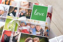 Photo print wrapping paper