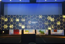 ICT Summit / Stage Set, LED Screen, Lighting and Sound Event Set