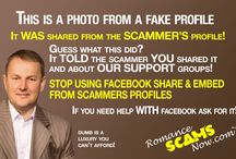 Fake Documents Used By Scammers by RSN / A collection of fake documents used by scammers to prove their identity.