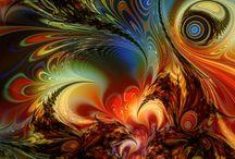 COLORS / RED, YELLOW, AQUA, ORANGE, GREEN, BLUE, PURPLE, SO FORTH / by Debbie Bailey