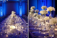Blue White & Bling Wedding / by Winsor Event Studio