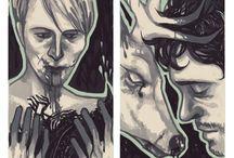 Hannibal fanart + tumblr 2