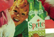 Vintage Holiday Ads - Soft Drinks