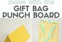 gift bag punch board