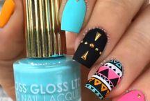 Diseño de uñas lindas!