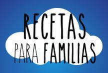 Recetas para familias / Recetas sencillas, sanas y rápidas para familias de hoy en día