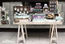 Mesa para dulces vintage