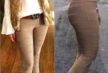 calças flare