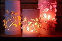 3D-s Papír lampionok