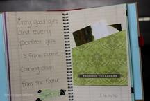 Paper - Scripture Art Book / by Cindy Moten