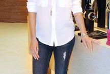 Fashion white shirt