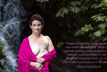 Raewyn's Album / Breast Cancer Survivor Poses for Portraits of Hope