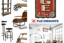 FLEXIMOUNTS Garage Organization System / Use Fleximounts Storage Racks, Get Your Garage Organized