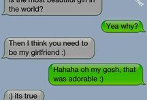 Funny or cute texts
