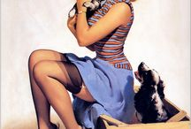 Amazing People - Pin Ups.. a blast from the past! / by Lucy Rouse