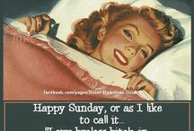 Sunday / This is how I describe a perfect Sunday!