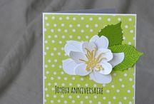 Cards - Floral Dies