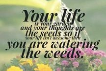 To garden is to live
