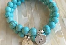 double bracelets with charms