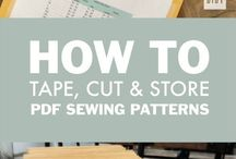 Sewing pattern organization