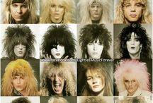 historien om rock 80-90 tallet