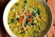 A slurp of soup