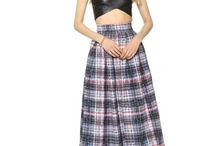 Plaid Pleat Skirts / by Fashion Gone Rogue