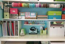 Scrapbook/Craft Rooms / by Bonnie Jones