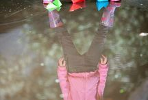 Wet Weather Activities for Kids / Lots of activities to do indoors and outdoors when it is raining