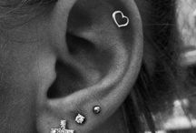 Piercings with jewellery