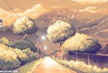 Cartoon_Makoto Shinkai