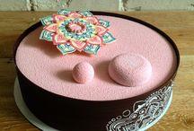 Olga Penioza pastry / Pastry cake mirror glaze