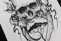 Tattoo skull ideas