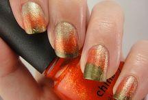 Autumn Manicure / Manicure otoñal / Manicure de otoño