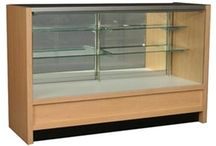 Bold Series Wood Display Cases / Browse our selection of bold series wood display cases. / by DiscountShowcases.com