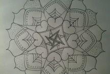 My Mandala's / When I have time I draw mandalas